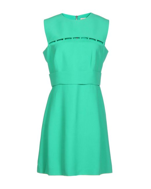 Emilio Pucci Green Short Dress