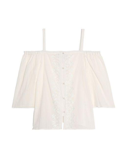 Camisa Bailey 44 de color White