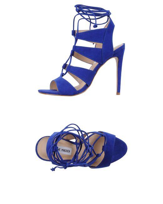 Steve Madden Blue Sandals