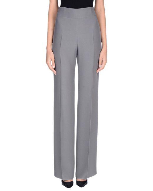 Armani Gray Casual Pants
