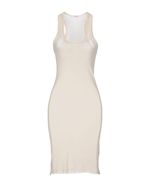 Jucca   White Short Dress   Lyst