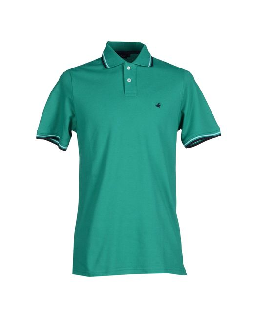 Brooksfield | Green Polo Shirt for Men | Lyst