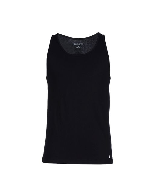 Carhartt | Black Tank Top for Men | Lyst