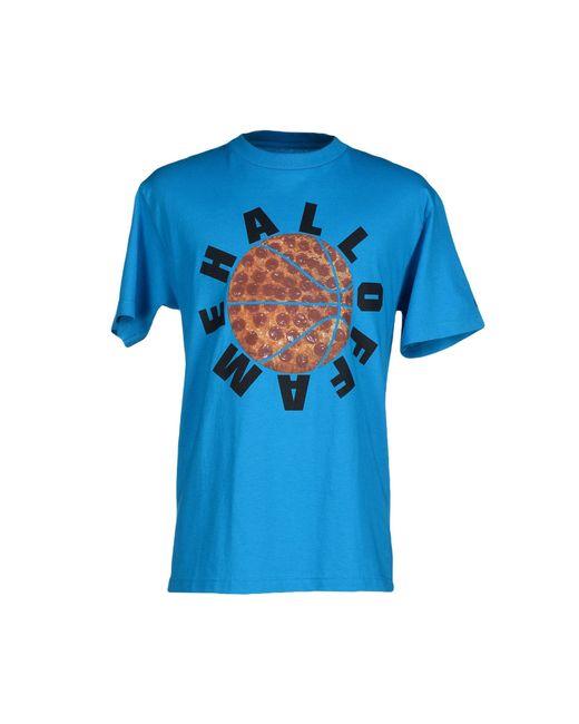 Hall of Fame | Blue T-shirt for Men | Lyst