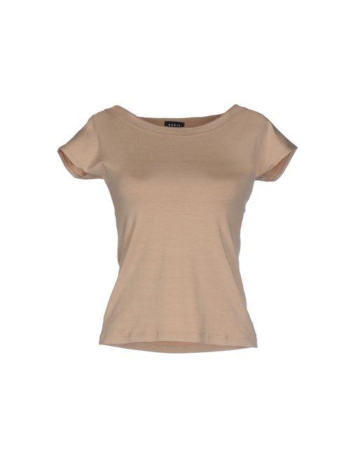 Akris   Natural T-shirt   Lyst