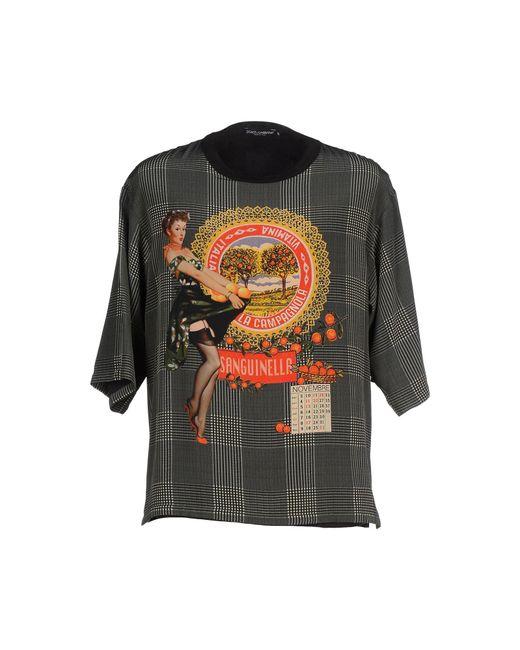 Dolce & Gabbana   Green T-shirt for Men   Lyst