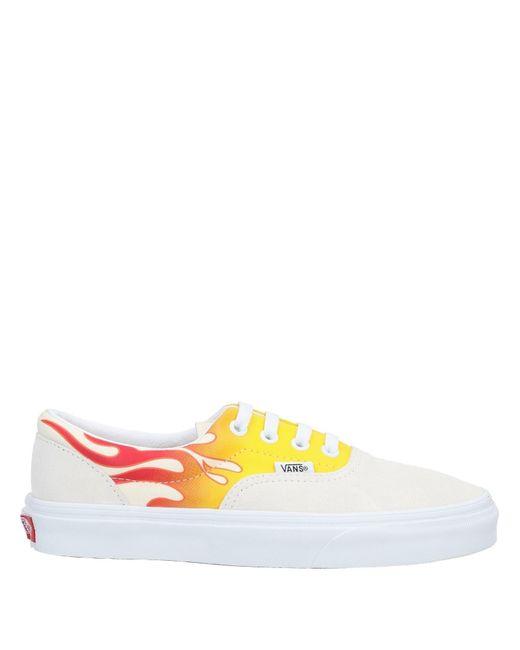 Sneakers Cuir Vans pour homme en coloris Blanc - Lyst