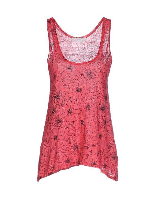 Kristina Ti | Red T-shirt | Lyst