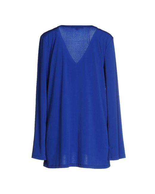michael michael kors t shirt in blue bright blue lyst. Black Bedroom Furniture Sets. Home Design Ideas