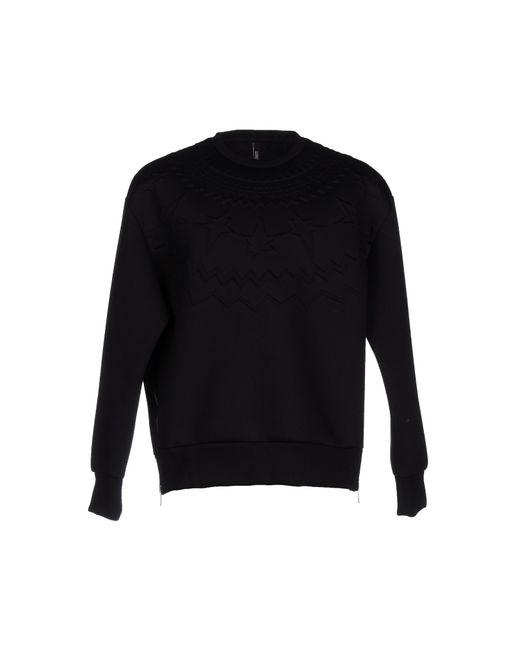 Neil Barrett   Black Sweatshirt for Men   Lyst