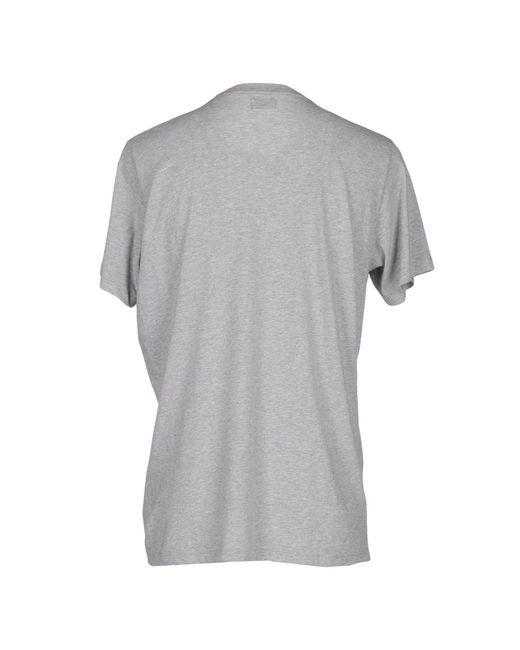 DIESEL | Gray T-shirt for Men | Lyst