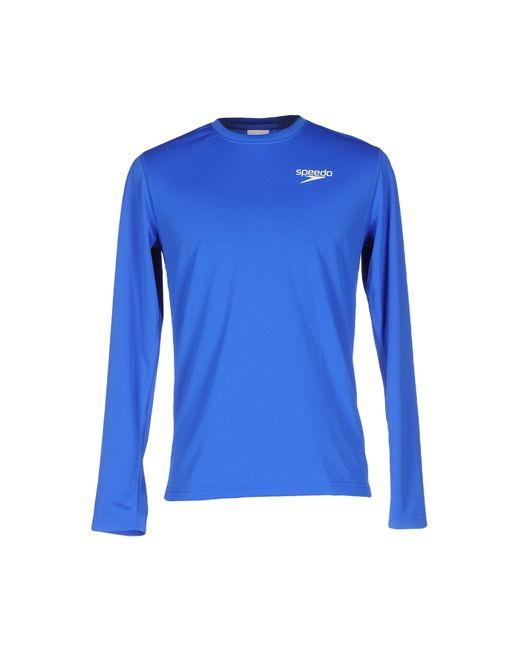 Speedo | Blue T-shirt for Men | Lyst