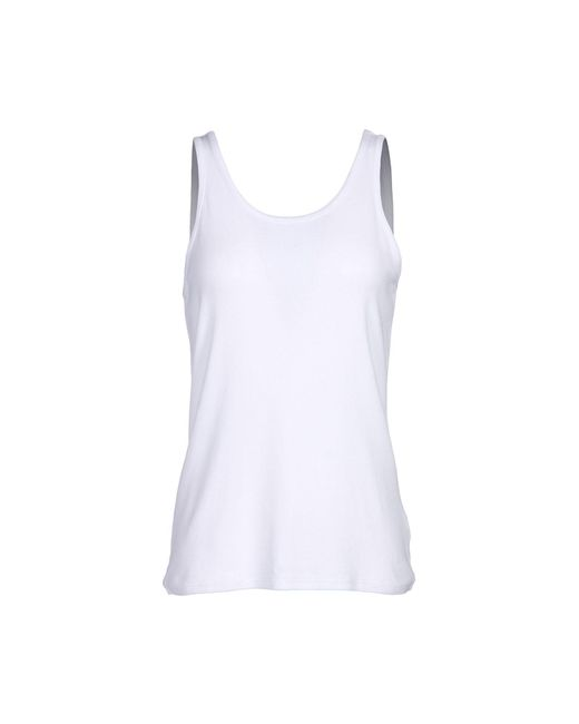 FRAME | White Tank Top | Lyst
