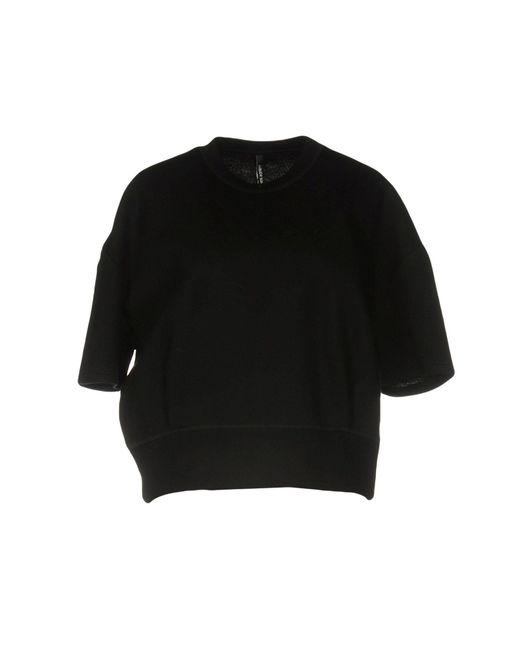 Neil Barrett   Black Sweatshirt   Lyst