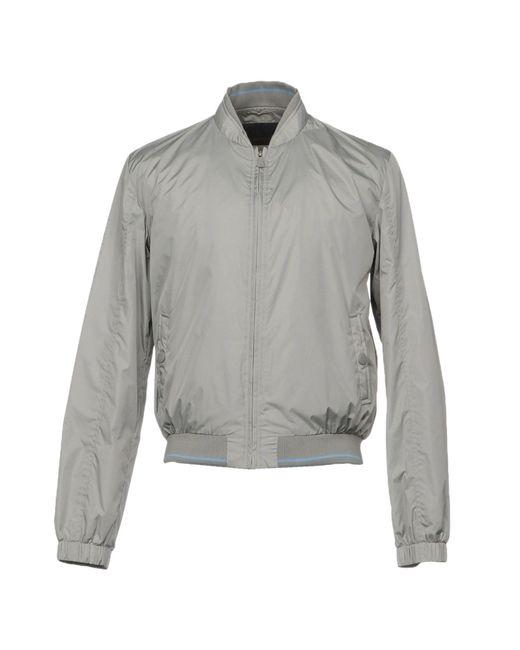 Trussardi Gray Jacket for men