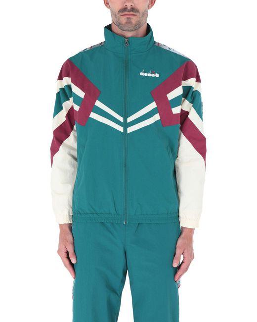 Kappa Slim Fit Anniston Track Jacket Violet $80-Now $68