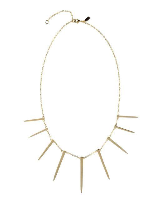 Elizabeth and James | Metallic Necklace | Lyst