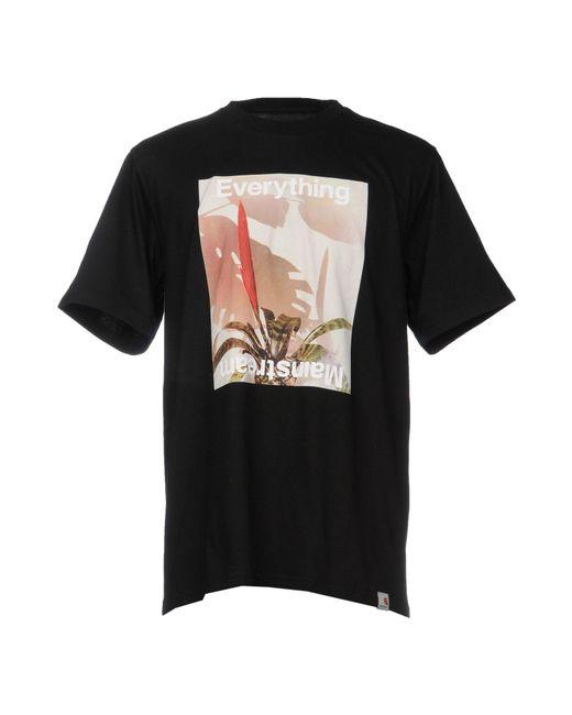 Carhartt   Black T-shirt for Men   Lyst