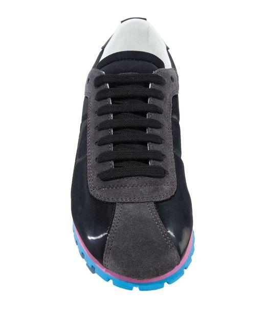 MM6 by Maison Martin Margiela Black Low Sneakers & Tennisschuhe