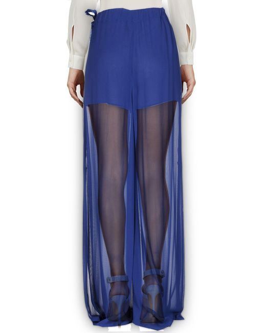 Pantalon Pinko en coloris Blue