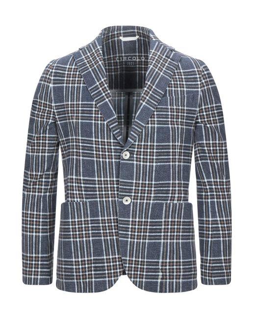 Circolo 1901 Blue Suit Jacket for men