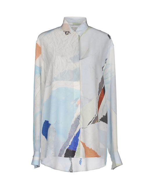 Maison Margiela | Blue Shirt | Lyst