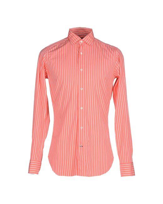Truzzi   Pink Shirt for Men   Lyst