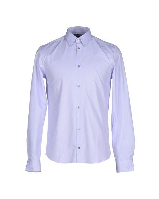 CoSTUME NATIONAL | Purple Shirt for Men | Lyst