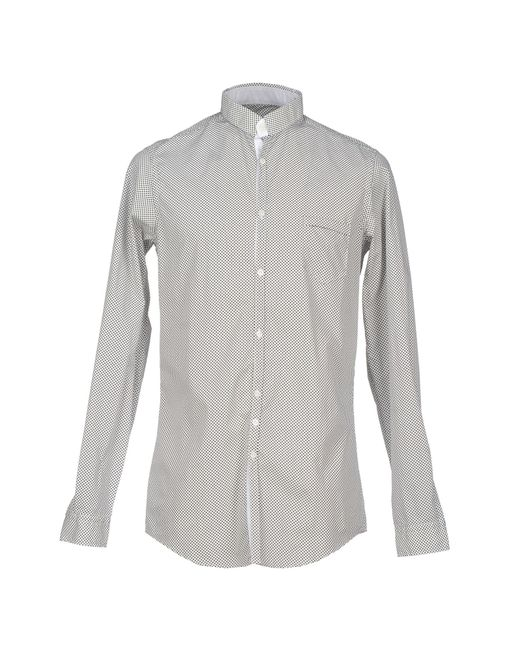 Aglini | White Shirt for Men | Lyst