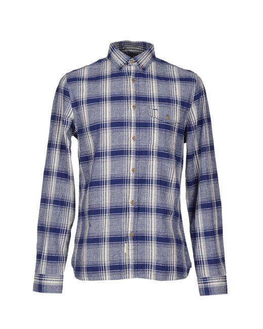 Woolrich | Blue Long-sleeve Rock Pass Woven Shirt for Men | Lyst