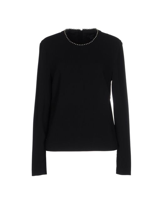 Alexander Wang | Black Blouse | Lyst