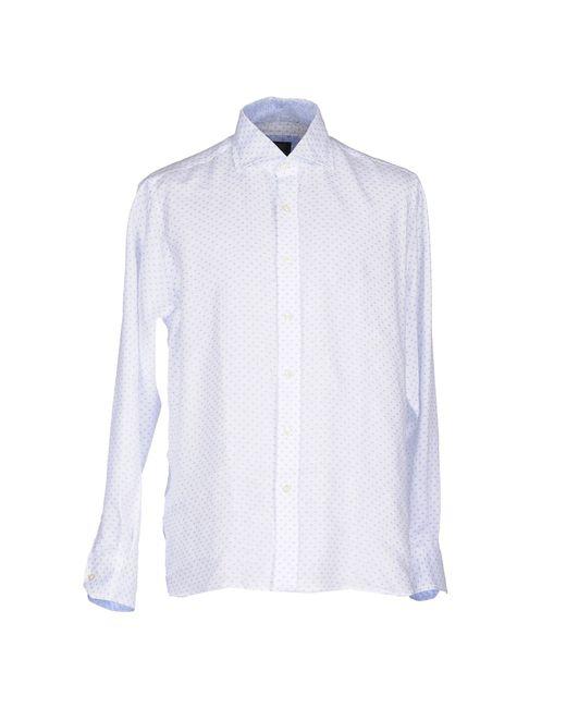 Mirto White Shirt for men