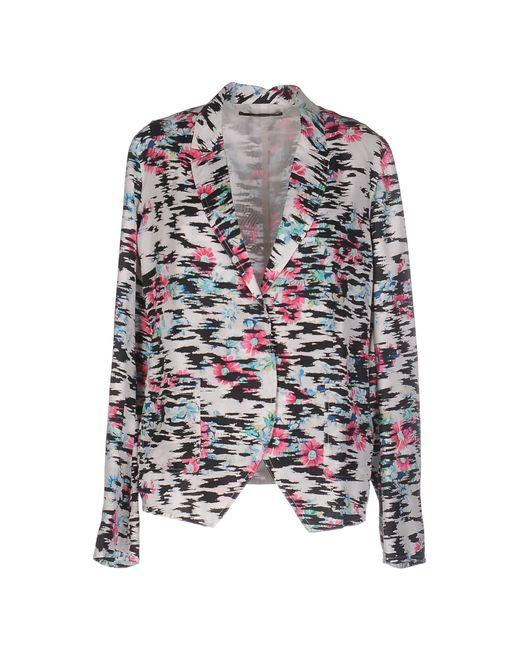 Balenciaga | Black Raffia-Effect Jacquard Jacket | Lyst