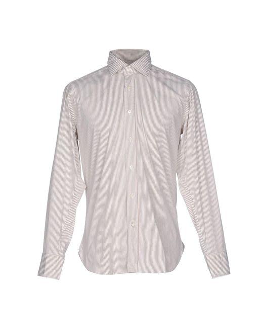 Guglielminotti | Natural Shirt for Men | Lyst