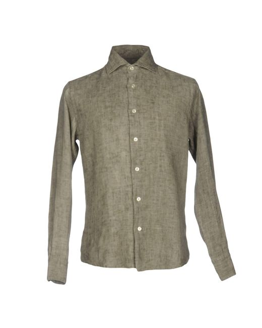 Brian Dales | Gray Shirt for Men | Lyst