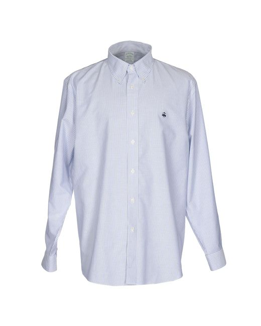 Brooks Brothers | Blue Shirts for Men | Lyst