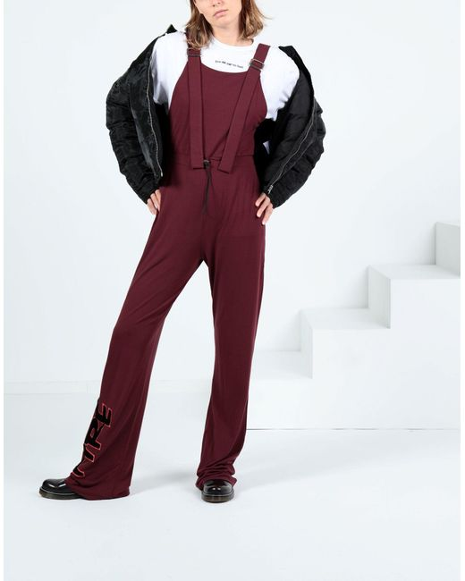 Pierre Darre' Red Langer Overall