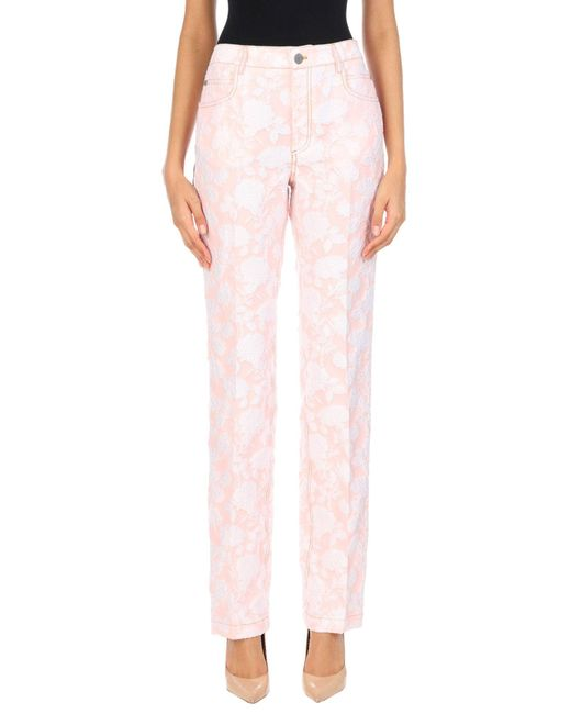 CALVIN KLEIN 205W39NYC Pink Casual Trouser
