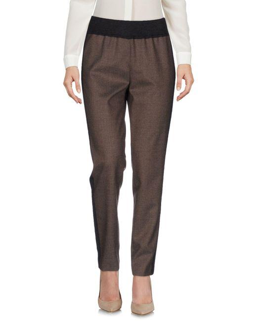 Les Copains - Multicolor Casual Pants - Lyst
