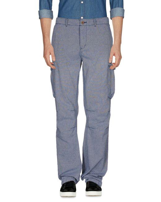 Scotch & Soda - Blue Casual Pants for Men - Lyst