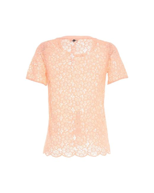 SCEE by TWINSET Pink Bluse