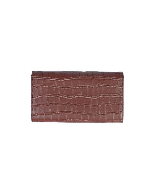 Billetera Mia Bag de color Brown