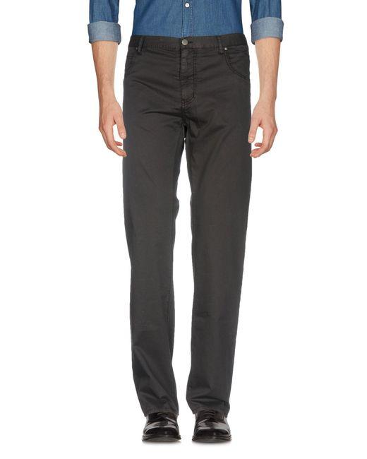 Armani Jeans - Black Casual Trouser for Men - Lyst