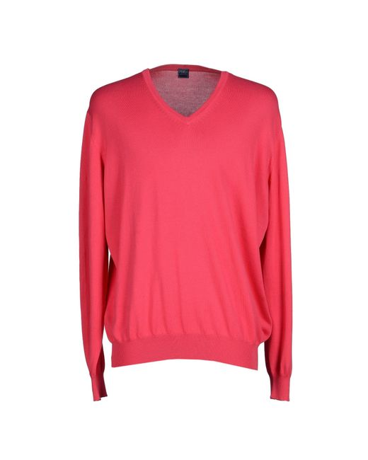 Fedeli | Pink Sweater for Men | Lyst