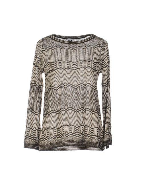 M Missoni   Gray Sweater   Lyst