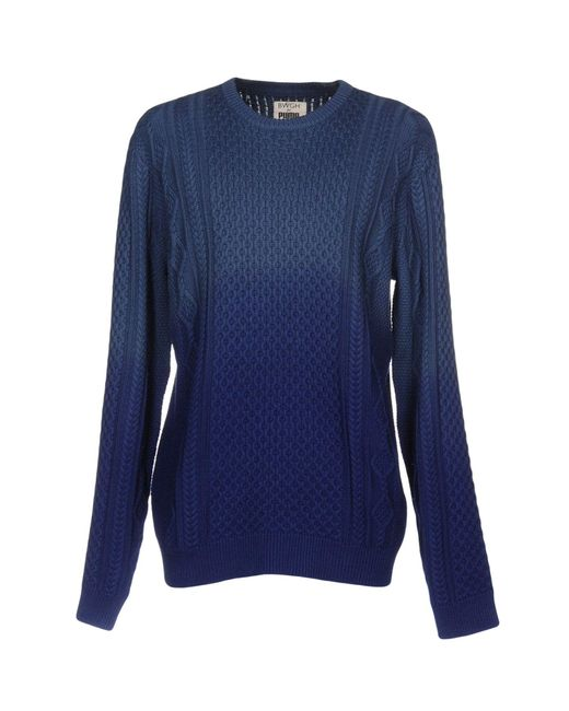 PUMA | Blue Sweater for Men | Lyst