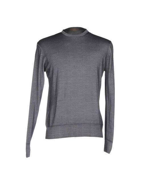 Cruciani | Gray Sweater for Men | Lyst