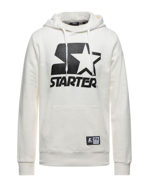 Starter White Sweatshirt for men