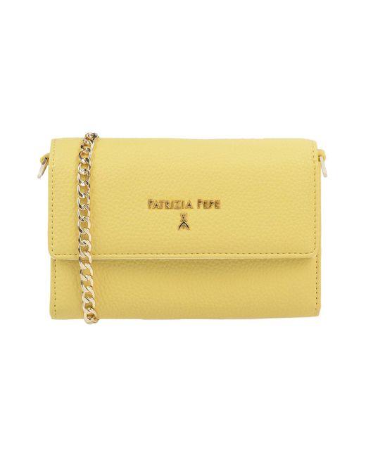 Patrizia Pepe - Yellow Cross-body Bag - Lyst