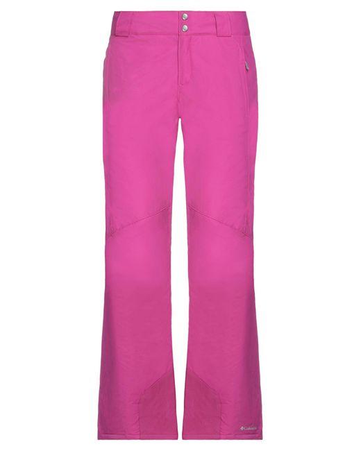 Pantaloni Sci di Columbia in Pink